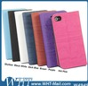 Wholesale Wood Pattern Mobile Phone Case For iPhone 4 4S Leather Skin Cover
