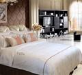 Luxo acolchoado hotel colcha