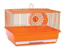 colorful wire iron orange pet cage hamster cage