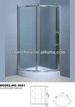 contemporary shower enclosure,simple shower room rectangular corner bathtub