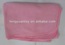 pink baby soft thick fleece blanket personalized gifts