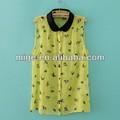 stock disponible de nuevo de encaje de moda diseños blusa blusa de de pajarosbu009