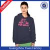 Women Cotton Hoodie Crewneck Sweatshirt With Pockets