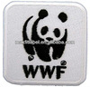 cute panda china make 3d embroidery patch