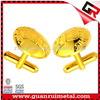 Fashionable hotsell promotional metal cufflinks
