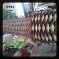 Mdf de madera del árbol decorativo, taza de café y cromo de árboles para al aire libre