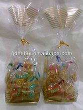 plain transparent cookie cellophane packaging bags wholesales