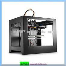 260*170*160mm Build Volume DIY desktop 3D Printer/Dual Extruder FDM 3D Printer/dental 3d printer