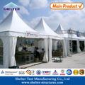cadre en aluminium bon marché gazebo avec couverture en pvc pour événement en plein air en chine