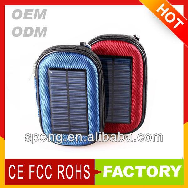 Sz989 2014 üst ile güneş çantası ısmarlama güneş yedek güç banka şarj/harici mobil şarj cihazı cep telefonu, iphone