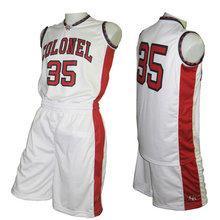 customized reversible basketball uniforms set