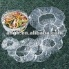 food grade disposable bowl cover/LDPE cover/Plastic cover