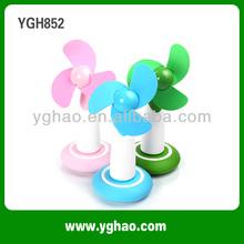 YGH365A Plastic 2014 Mini Fan Small Table Fan Desk Fan