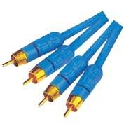 RCA Cable,2R Plug to 2R Plug