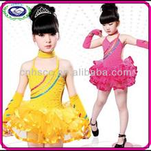 Chiffon and Spandex Girls Ballet Dress Children Dance Costumes