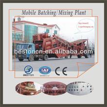 YHZS35 Mobile Concrete Batch Plant for Building/Concrete Plant price