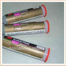 3M Scotch-Weld Epoxy Adhesive 2214 Hi-Temp New Formula Gray, 5.9 oz
