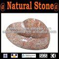 Atacado preto pedestal pia de granito de fabricação