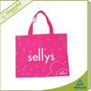 cheap propylene spunbond bag for shopping non woven bag
