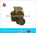 Needle punched non-woven filter bag for asphalt plant