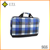 plaid travel bags for men ourdoor use