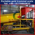 2014 de alta capacidad de pequeña escala de polvo de oro de la máquina de lavado