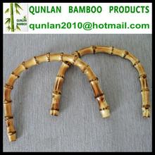Natural Bamboo U-Shaped Bag Handles