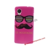 Cute Cartoon Owl Le Moustache Mobile Phone Case for Nexus 5 D820 D821
