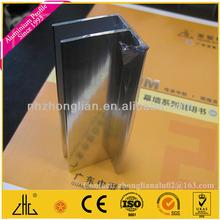 Wow!! Chemical polished aluminium shower door parts factory,aluminium F profile aluminium price per ton plant manufacturer OEM