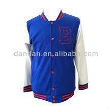 Branded baseball jacket terry fabric sportswear
