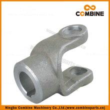 high quality agriculture pto shaft plastic guard Plain bore yoke B (keyway)