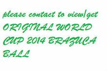 ORIGINAL BRAZUCA WORLD CUP 2014 FOOTBALL/MATCH BALL/SOCER BALL BALOON