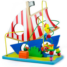 Top selling products 2014 plastic toy pirate ship for promotion
