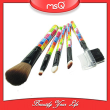 MSQ 5pcs travel cheap cosmetic brushes