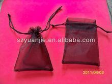 organza velvet drawstring pen gift bag wholesales