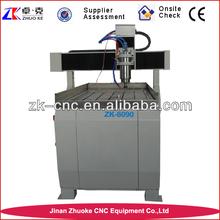 mini router cnc for wood/metal/copper/plastic ZK-6090 600*900mm