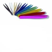 Color Painted Eyebrow Tweezers