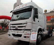 6*4 tractor truck ZZ4257S3241AZ 371hp white big power