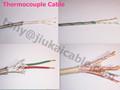 pfa絶縁マルチペア熱電対延長ケーブル