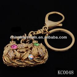 China Key Ring Bag Key Chain Fobs