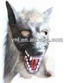 plástico máscara de lobisomem em ferramentas de desempenho máscara festa de halloween