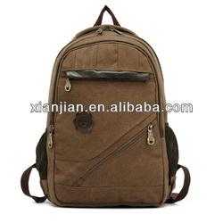 Casual Fashion Canvas Backpack,Vintage Style School Bag,Retro Design Canvas Travel Bag(BBZT006)