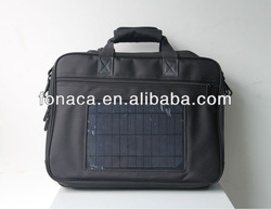 2014 Hot-selling rechargeable Solar bag for laptop, Tablet PC, Mobile phone