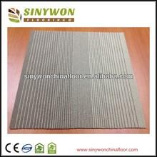 Solid Color 100%PP Bitumen Backing Carpet Tile
