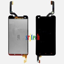 for HTC Droid DNA Panel LCD Touch Glass Digitizer Screen Assembly OEM w/ Red Buttons