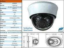1000TVL, Low Illumination Plastic Dome Camera