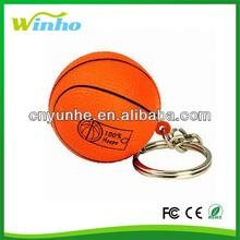 Basketball Keyring Stress Balls