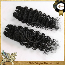 hot sale unprocessed virgin indian hair alibaba china indian deep curly