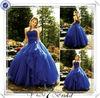 FQ0348 Sexy Cross Back Organza Ruffle Wedding Dress Bridal Gown