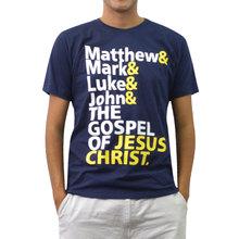 100% Cotton O-neck printed T-Shirt - The Gospel of Jesus Christ